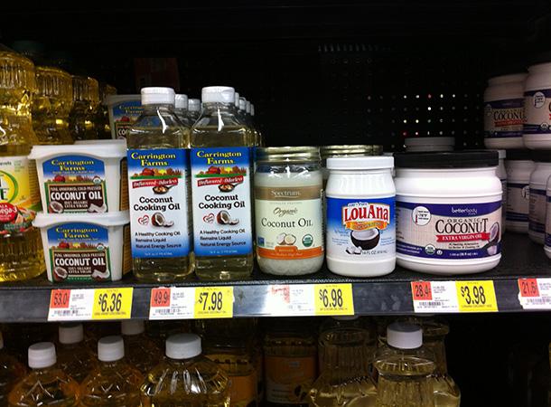 coconutOilWalmart