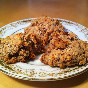 Autumn-Spice Scones (Grain, Dairy, Soy, Egg and Sugar Free)