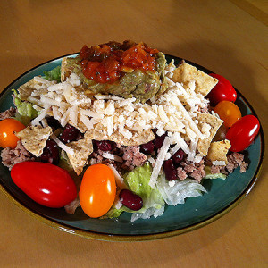 Taco Salad: Gluten, Dairy, Soy and Egg Free