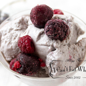 Cherry Berry Vegan Ice Cream (Refined Sugar Free)