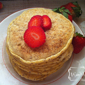 Gluten Free Corn Pancakes (egg, dairy, soy and sugar free)
