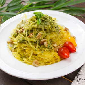 "Spaghetti Squash ""Pasta"" Salad"