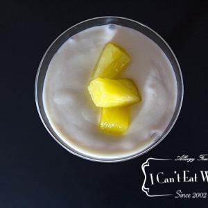 Pina Colada Pudding Shake (Sugar Free)