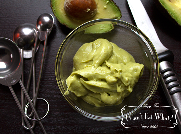Egg Free Avocado Mayonnaise