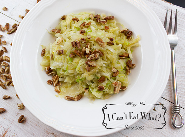 Vegan Braised Cabbage