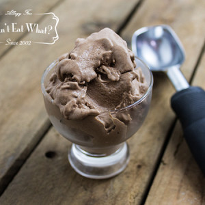 Vegan Chocolate Chocolate Chunk Ice Cream (No Refined Sugar)
