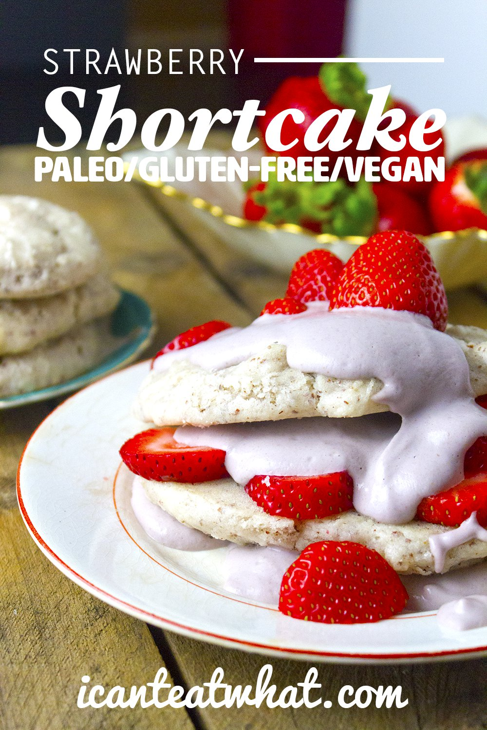Vegan and Grain Free Strawberry Shortcake Recipe Easy