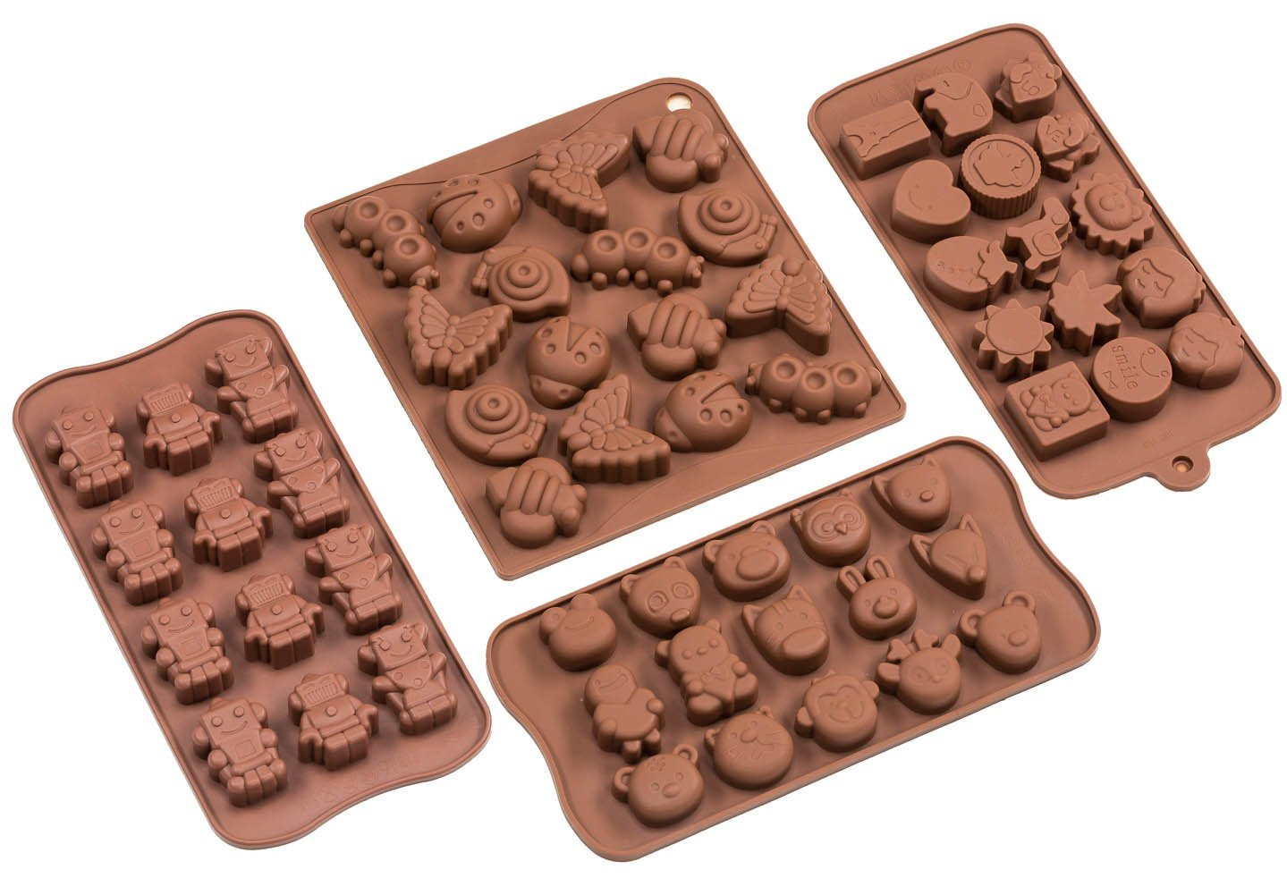 Sorbus® Cartoon Shaped Silicone Molds