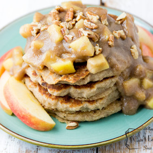 Gluten Free Apple Pie Pancakes