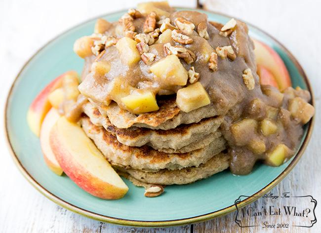 Gluten Free Apple Pie Pancakes