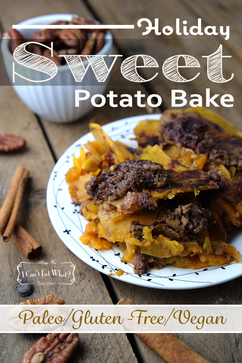 Holiday Sweet Potato Bake (Paleo/Vegan)