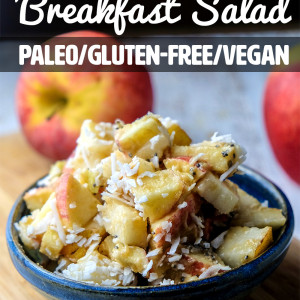 Pear and Apple Breakfast Salad