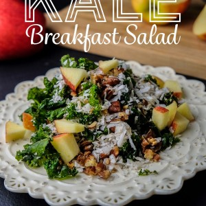 Katrina's Kale Breakfast Salad
